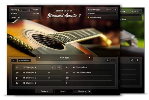native instruments introduces session guitarist strummed acoustic 2. Black Bedroom Furniture Sets. Home Design Ideas
